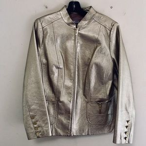 Other - GOLD metallic Jacket • Size 10 •